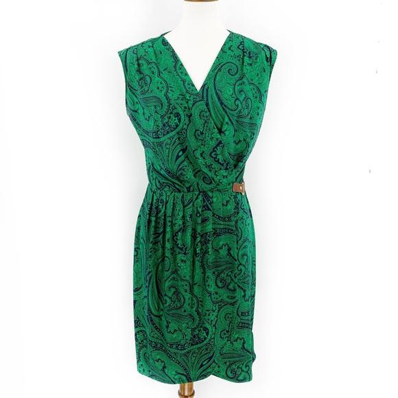 Michael Kors Dresses & Skirts - MICHAEL KORS Printed Crossover Midi Dress